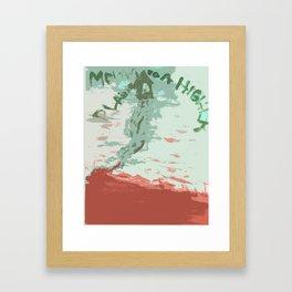 Higher Plane Framed Art Print
