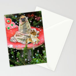 Saturday in the Forest with Cleve & Steve Stationery Cards