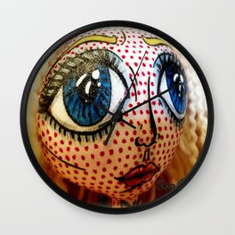 Super Stare Wall Clock
