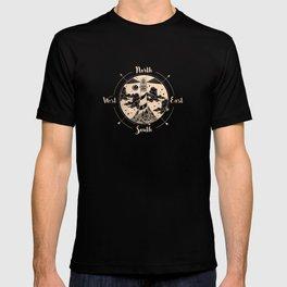 Compass Sunset Sea Dreams T-shirt