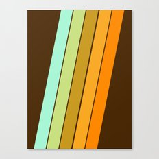 Fer Shure - retro throwback minimal 70s style decor art minimalist 1970's vibes Canvas Print