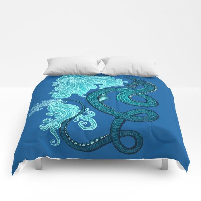 Ice Serpent Comforters
