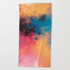 Golden Virus Beach Towel