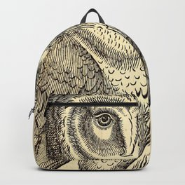 Antique Barn Owl Backpack