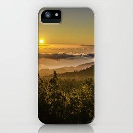 Sunset at 1800m iPhone Case