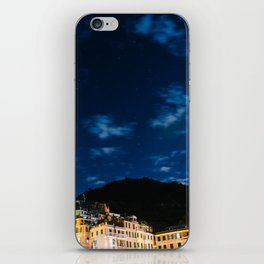 Vernazza at Night iPhone Skin