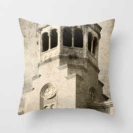 Old Greek Orthodox Church Throw Pillow