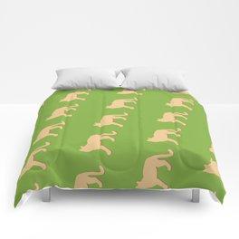 Mountain Lion landscape Comforters