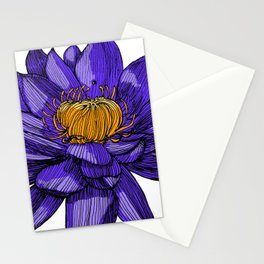 Lily the lotus Stationery Cards