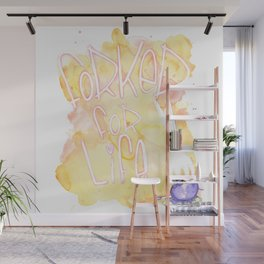 Forked for life Wall Mural