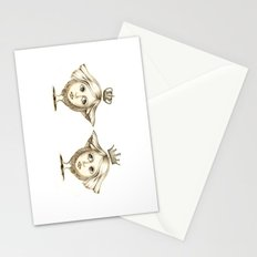 Siamese Queens Stationery Cards