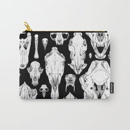 Skull Grid Carry-All Pouch