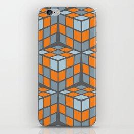 cascade - orange iPhone Skin