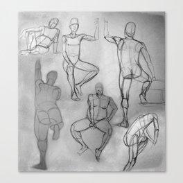 Human Study Canvas Print