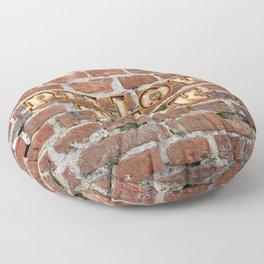 Pillow Talk - Brick Floor Pillow