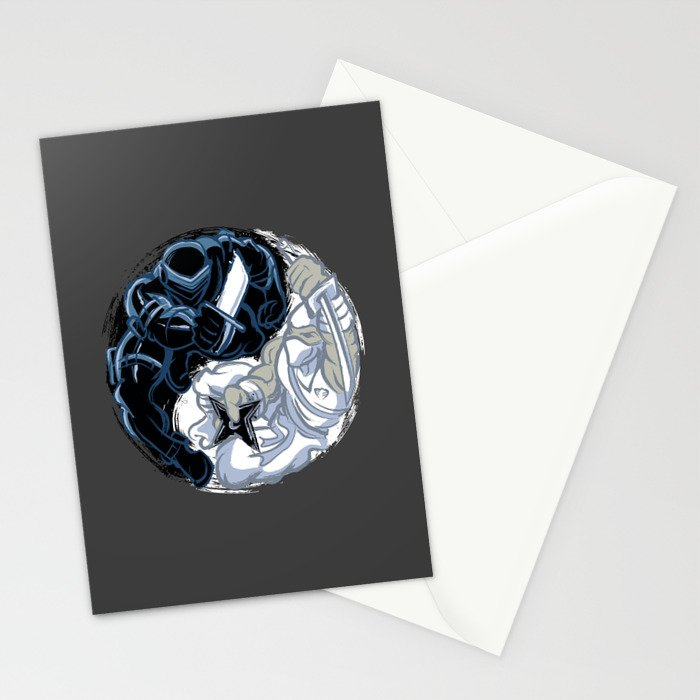 Snake Eyes/Storm Shadow  Stationery Cards