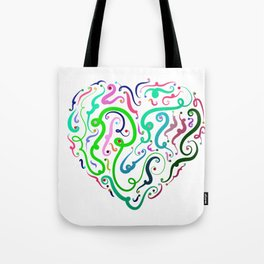 Heart Graphic by LH Tote Bag
