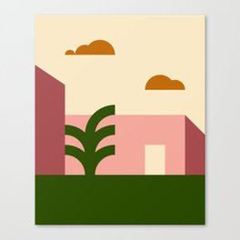 Thinking Back To The Holiday I Never Had .02 Canvas Print