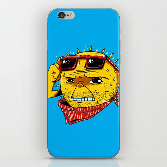 Damn, It's Hot iPhone & iPod Skin