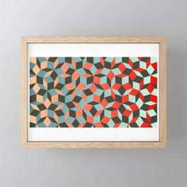 Penrose tiling I Framed Mini Art Print