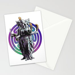 Hecate - Stained Glass Stationery Cards