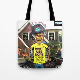 Uncle Freeloaders Life Story Remixed Tote Bag
