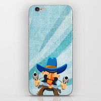 dwight iPhone & iPod Skins featuring Dwight McStetson by Rabassa