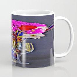 Wine and Flowers Coffee Mug