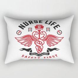 Nurse Life Rectangular Pillow