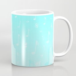Snowing Music Coffee Mug