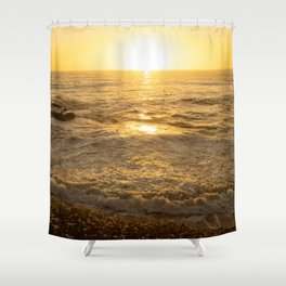 Sunset La Jolla by Reay of Light Shower Curtain