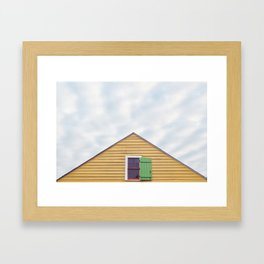 Bywater home, New Orleans 2013 Framed Art Print