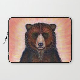 Blissed Out Bear Laptop Sleeve