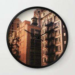 Brick & Mortar Wall Clock