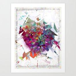 Techno Art by Nico Bielow Art Print