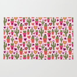 A Cactus for Valentines Rug