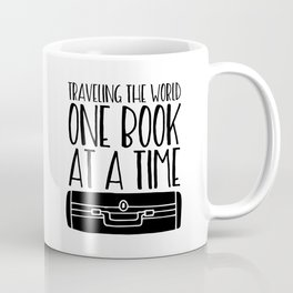 Traveling the World One Book at a Time Coffee Mug