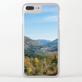 Colorful French valley Clear iPhone Case