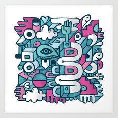 ABSTRACT 0016 Art Print