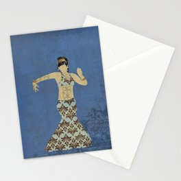 Belly dancer 4 Stationery Cards