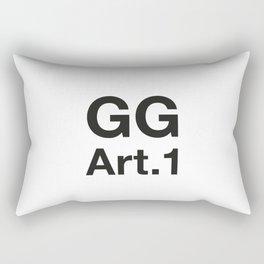 GG Art. 1 Rectangular Pillow