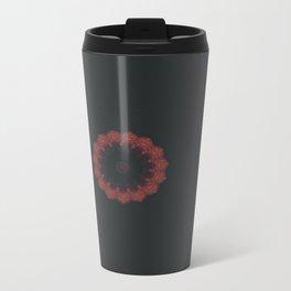 Burgundy Disarray Travel Mug