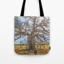 Boab and clouds Tote Bag