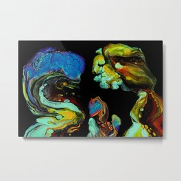 Space Worms Family Portrait Metal Print