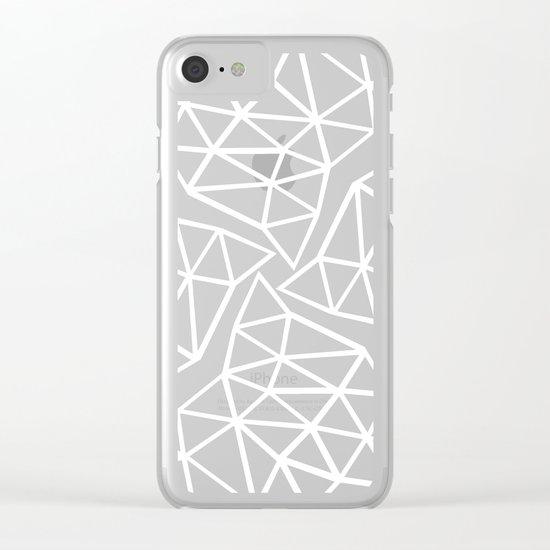 Seg Colide Clear iPhone Case