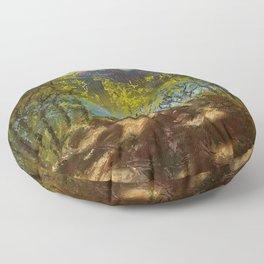 Chickies Rock Overlook Soft Pastel Painting Floor Pillow