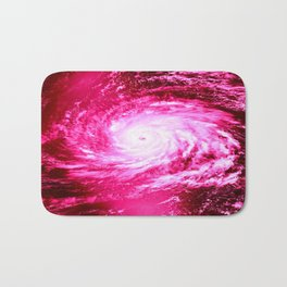 Pink Hurricane Bath Mat