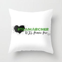 Team Archer Throw Pillow