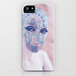Wonder wheel portrait iPhone Case