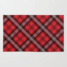 Scottish Plaid-Red Rug
